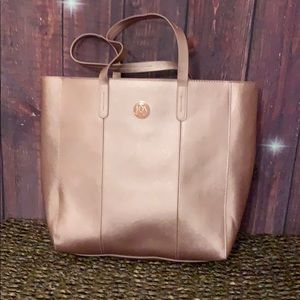 Rose tote. No tags. Never used